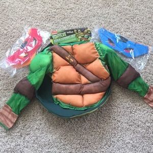Other - NWT Boys ninja turtle dress up set